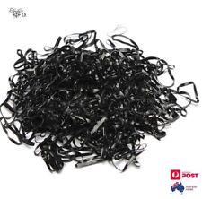 250Pcs Black Elastic Small Hair Rubber Band Ponytail Hair Tie