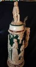 GERMAN SALT GLAZED STEIN Matthias Girmscheid OLD GERMANS 1.5 litre