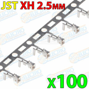 100x Conector Hembra JST XH 2.5mm para cable