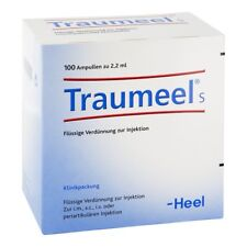 HEEL Traumeel S 100 Amps (2.2ml) Homeopathic Remedies