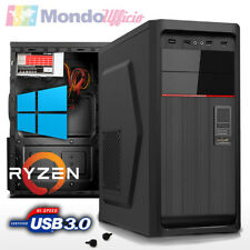 PC Computer AMD RYZEN 5 2400G - Ram 8 GB DDR4 - SSD 480 GB - Wi-Fi - Windows 10