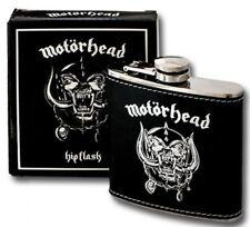 MOT�–RHEAD FLACHMANN HIP FLASK EDELSTAHL  + BOX NEU
