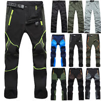 Men Casual Pants Tactical Waterproof Hiking Climbing Outdoor Combat Long Trouser