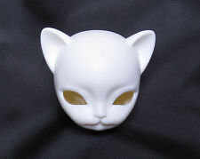 White ver1.5 Freya Practice Head for 23cm Hujoo BJD Doll ABS Ball Jointed Doll
