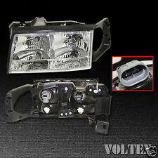 1997-1999 Cadillac DeVille Headlight Lamp Clear lens Halogen Left Side