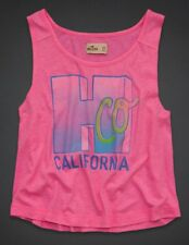 Hollister Abercrombie & Fitch Monarch Beach Tanque Tee Top M 10 12!