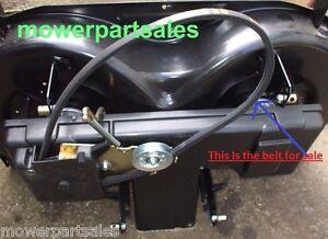 """Honda Engine 2 Deck Belt HF2213 2213 HF2216 HF2218 HF2415 2417 HF 2417 40"""" DECK"""