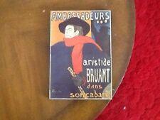 Toulouse Lautrec Art Poster Ambassadeurs Aristide