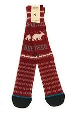 BRAND NEW Stance Men's Merino Wool Polar Beer Socks Large 9-12
