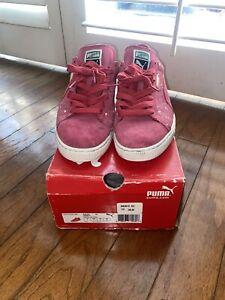 PUMA Men's Classic Splatter Sneaker Size 10 USED