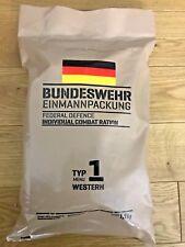 NEW TYP! Germany Military Ration - 24h - (MRE, EPA)  09-2020