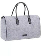 BRAND NEW!!! Kenneth Cole Gray Black Duffle Bag Weekender Travel Gym Handbag