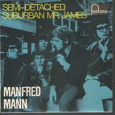 MANFRED MANN EP Spain 1966 Semi-detached, suburban Mr. James +3