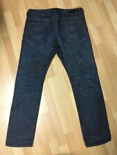 NWOT Mens Diesel BUSTER HARD Denim 0842N DARK BLUE Slim W33 L32 H7 RRP£160