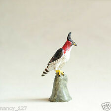 New Original Animal Model Long-crested Eagle Collectible Figurine Figure Toy