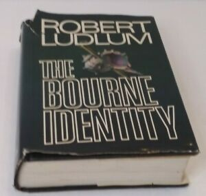 The Bourne Identity By Robert Ludlum 1st Edition First Printing 1980