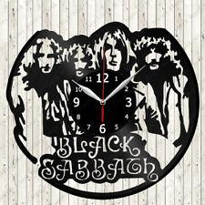 Black Sabbath Vinyl Record Wall Clock Decor Handmade 2957