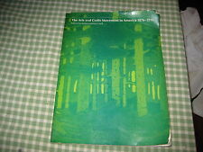 THE ARTS & CRAFTS MOVEMENT IN AMERICA ROBERT JUDSON CLARK BOOK CATALOGUE