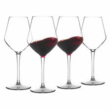 4pc Unbreakable Stemmed Wine Glasses Tritan Dishwasher safe Glassware 15OZ 425ML