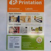 Etiketten DPD DHL weiß selbstklebend 25 Blatt A4 100 Stück 105mm x 148,5 mm