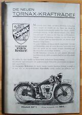 Tornax-Kraftrader - Broschure , Info