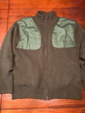 Southern Proper Mens Zip Front Cardigan Sportsman Hunting Sweater
