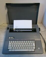 Vintage Smith Corona SL 470 Electric Portable Typewriter with Case