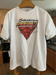 Coors Original Xtreme Bull Riding Tshirt
