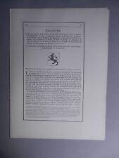 Généalogie - Famille : Coustin.