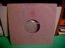 """VINTAGE ANGEL RECORDS ORIGINAL COMPANY INNER SLEEVE ONLY NO RECORD 12"""""""
