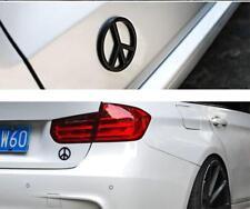 B112 Paix Emblème autocollants voiture badge Car Emblem Alu auto Noir