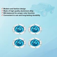 4Pcs Alum Alloy Brake Disc Wheel Adaptor for 1/10 Off-road Buggy RC Car X9E9
