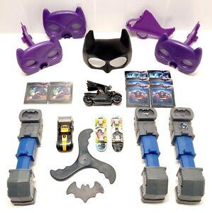 Batman McDonalds Toys Bundle Lot Of McDonalds Happy Meal Batman Toys