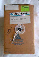 Arrow Station Wire 22/4 CDR 1000 Feet White