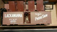 "Front Range HO Lackawana ""Phoebe Snow"" ACF Welded 40' Boxcar Kit, NIB"