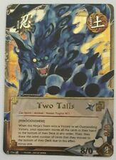 NARUTO CCG TCG TWO TAILS SUPER RARE CARD