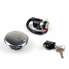 Ignition Switch Lock & Fuel Gas Cap Key Set Pour Suzuki GN125 1982-2001 BS7