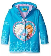 Western Chief Little Girls Frozen Elsa and Anna Rain Coat SZ 2 T