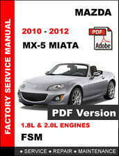buy car service repair manuals mx 5 2012 ebay rh ebay co uk mazda mx 5 factory service manual 2016 miata factory service manual pdf