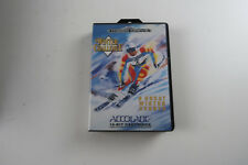 Sega Megadrive Game Winter Challenge  boxed with manual