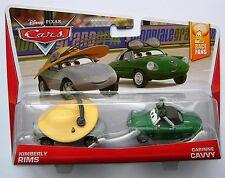 Disney Pixar Cars KIMBERLY RIMS & CARINNE CAVVY Very Rare UK !!