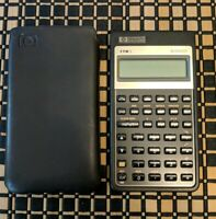 HP 17BII Financial Calculator with cover Flawless condition