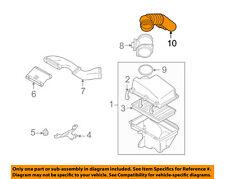 VOLVO OEM 01-07 V70 2.4L-L5 Air Cleaner Intake-Inlet Pipe 30680446