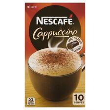 Nescafe Cappuccino Coffee Sachets 10 pack