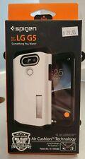 NEW Spigen Slim Armor Air Cushion Case for LG G5 - Shimmery White - #1C