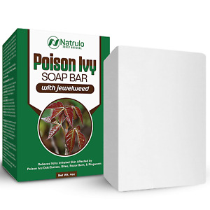 Natrulo Poison Ivy Soap Bar - All Natural Poison Ivy Treatment - Anti-Itch Skin