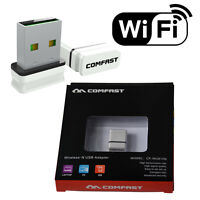 Comfast WiFi Mini USB Adapter Wireless Dongle Adaptor 802.11 300Mbps LAN Network