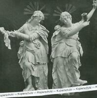Roggenburg : Klosterkirche : Magdalena und Veronika - um 1930     W 5-16