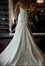 Lace & Beaded Wedding Dress (Never Worn) Mori Lee by Madeline Gardner