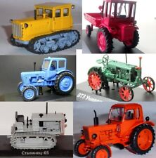 1:43 MTZ-50 or DT-54 or T-16 or Universal or Stalinets 65 Soviet Tractor choice